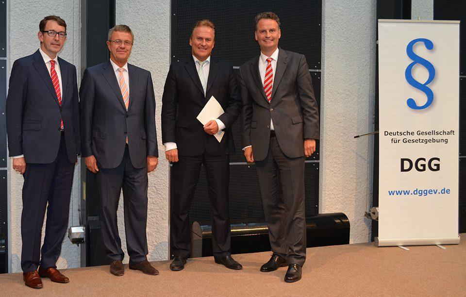 Erster Preis für das Gesetz zum Neuen Dienstrecht in Bayern