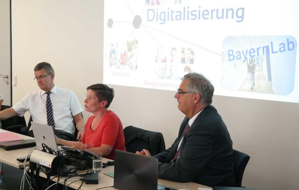 BayernLab – Teil der Digitalisierungstrategie der Bayerischen Staatsregierung