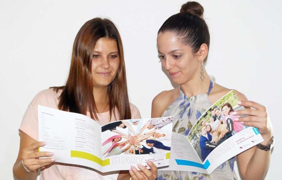 Wissen für den Berufsbeginn: dbb hat START-Broschüren neu aufgelegt
