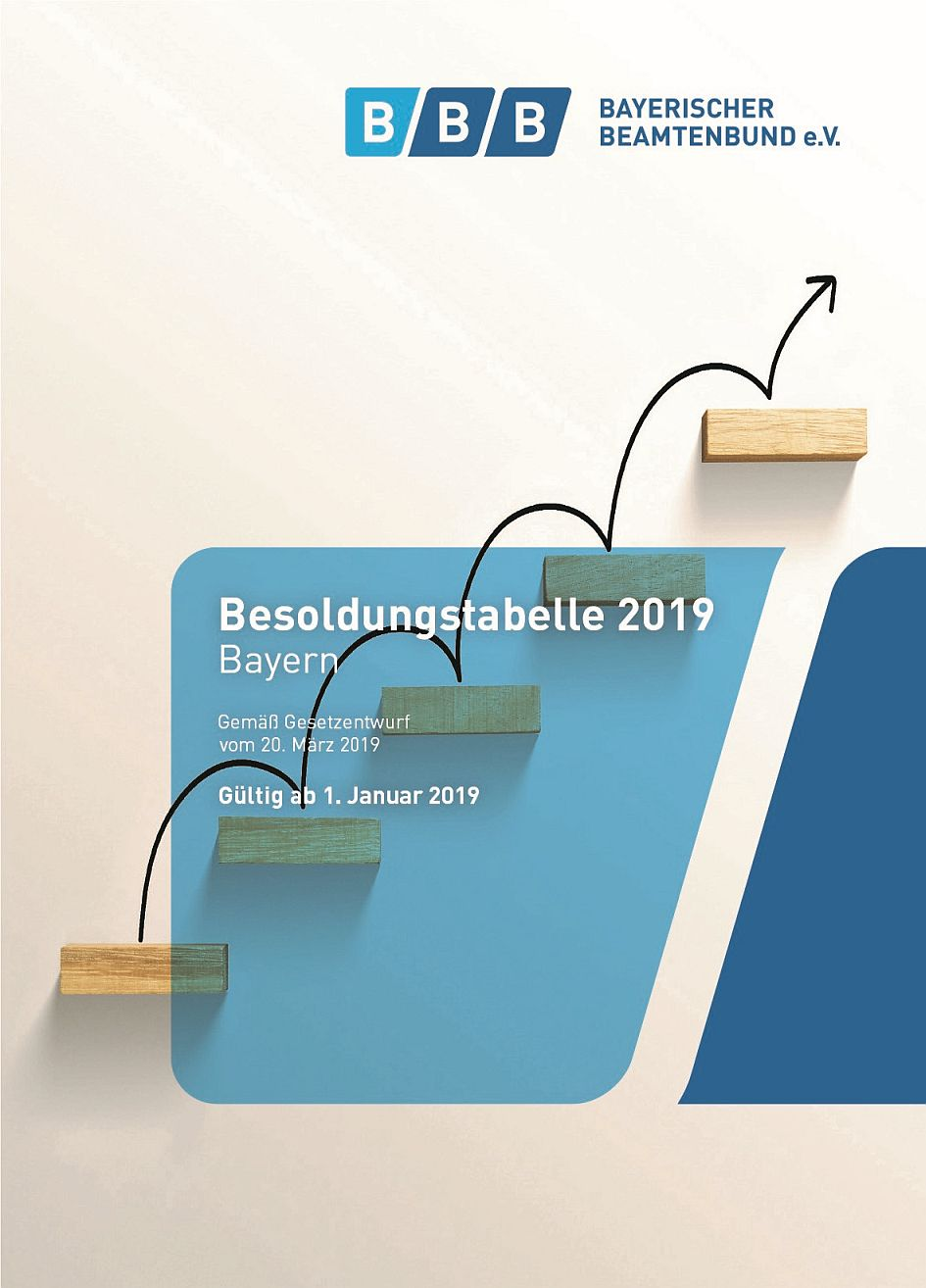 190521_Besoldungstabelle 2019 Cover