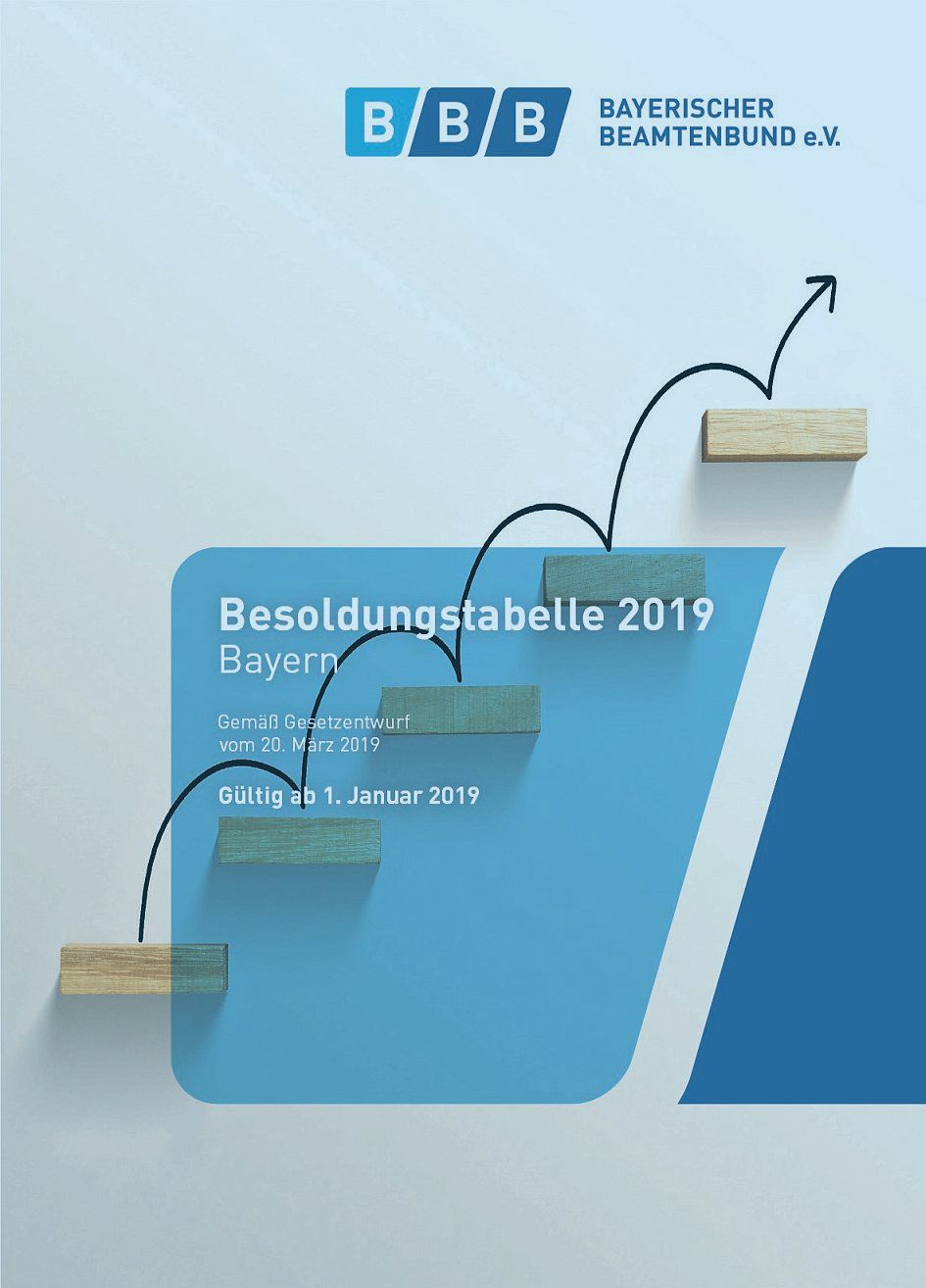 Besoldungstabelle 2019 Cover_Hover