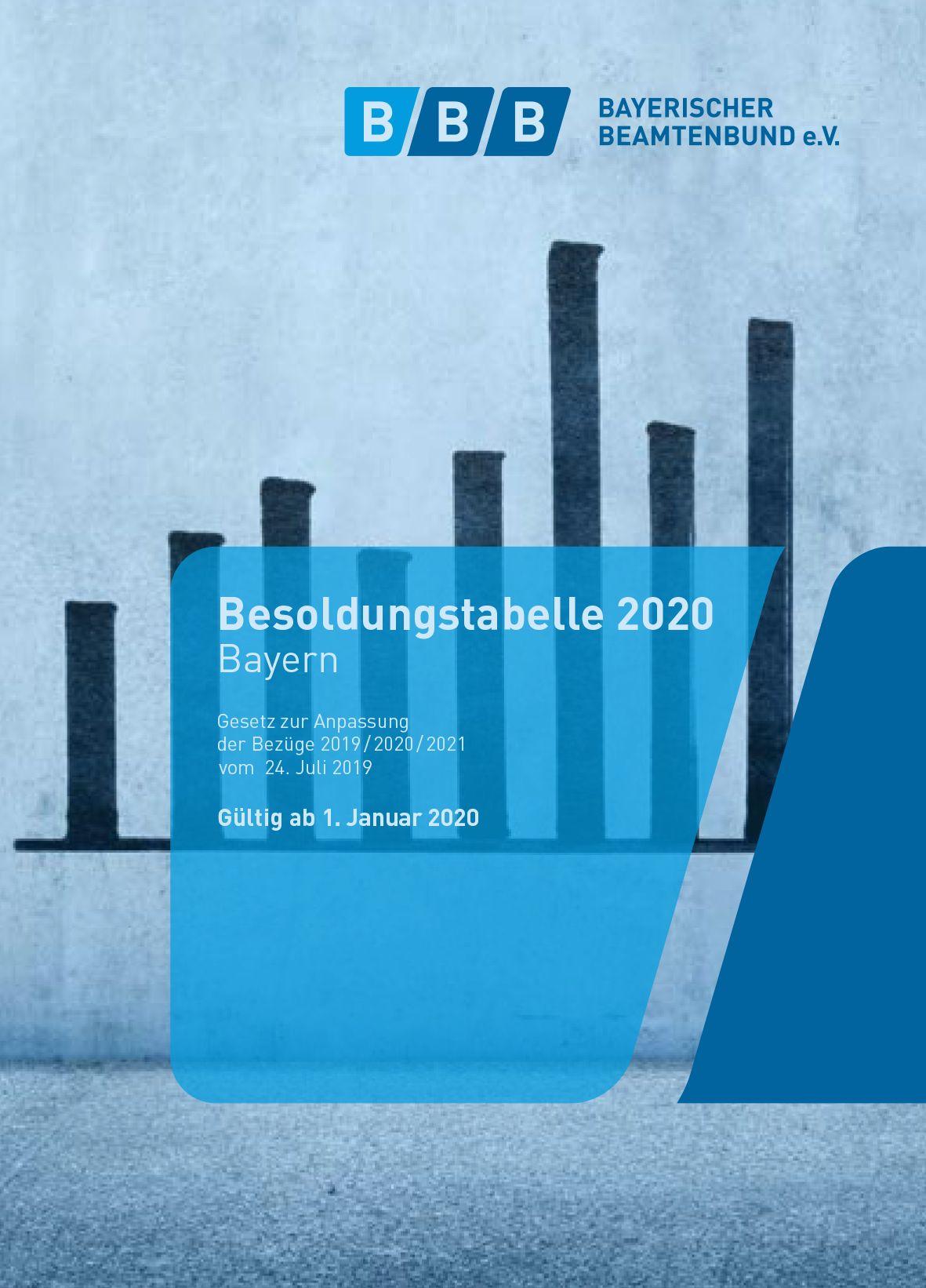 191202_Besoldungstabelle 2020 Cover Hover-Effekt
