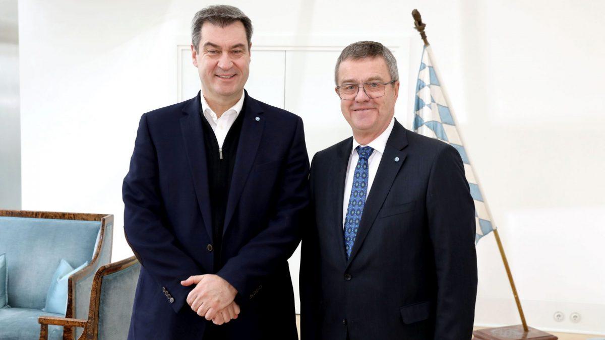 Bayer Ministerpräsidenten